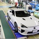 Último Lexus LFA é produzido