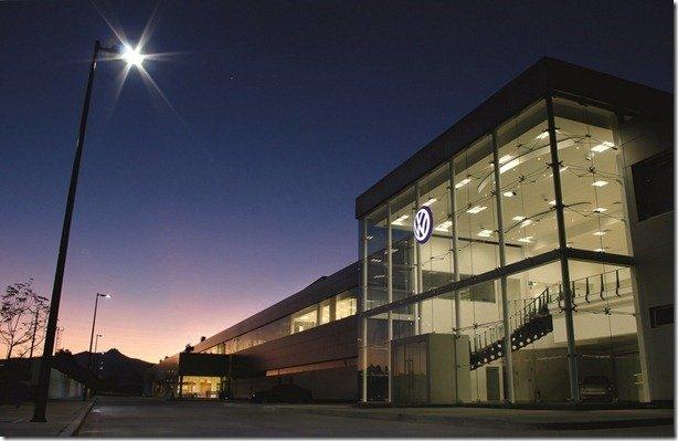 Centésima fábrica da Volkswagen é inaugurada