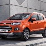 Ford EcoSport estará no Salão de Genebra