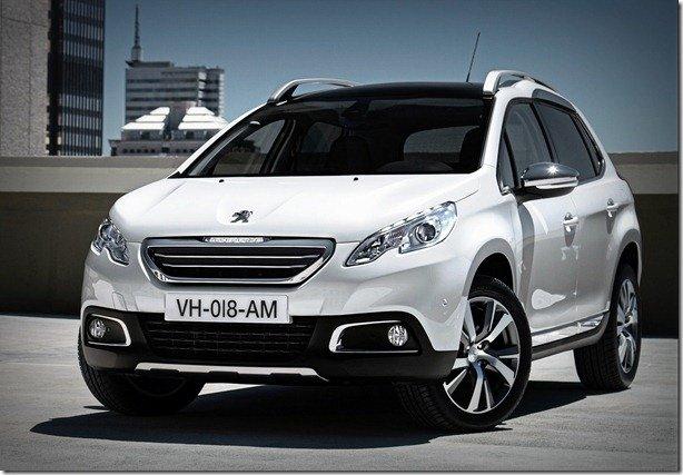 Peugeot libera mais imagens e detalhes do 2008, que será produzido no Brasil em 2014