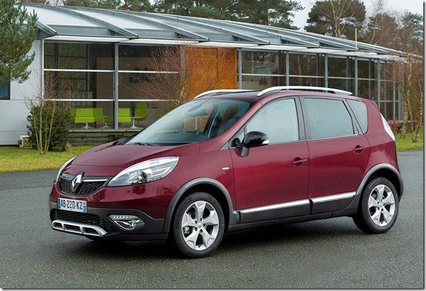 Renault apresenta Scenic XMOD