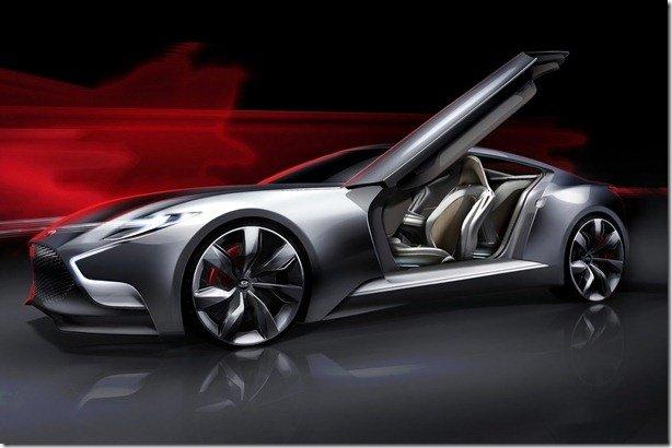 Hyundai HND-9 Concept antecipa o novo Genesis Coupe