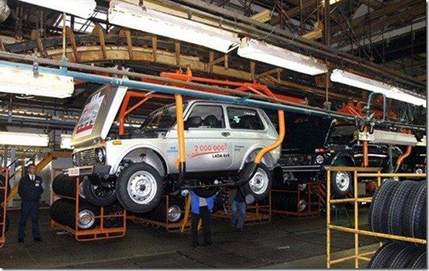Lada Niva já teve dois milhões de unidades produzidas