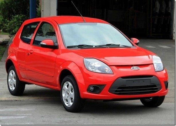 Ford Ka ganha equipamentos e deixa de ser o carro mais barato do Brasil