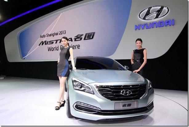 Hyundai Mistra é exclusivo para a China