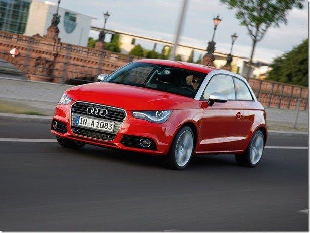Queda geral de preços na Audi marca o 1º de Abril