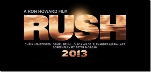 Apertem os cintos: Rush estreia nos cinemas em setembro!