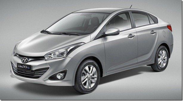 Hyundai reduz preços do HB20S