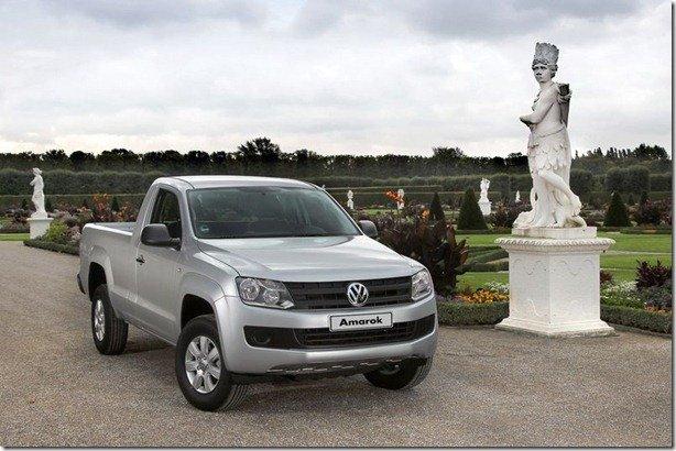 Volkswagen Amarok passa a ter 140 cv nas versões de entrada