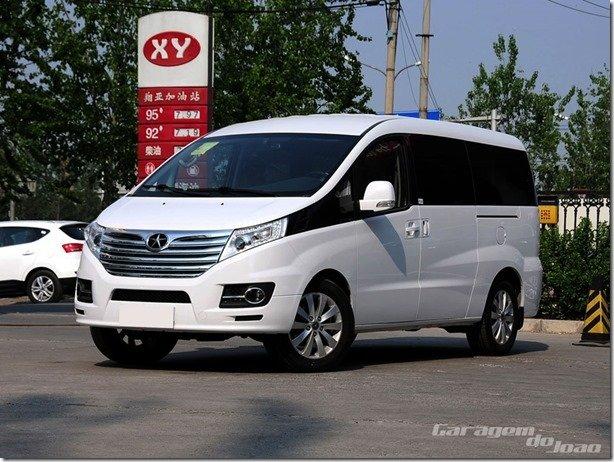 JAC T8 está de cara nova na China
