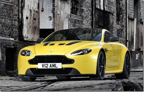 Aston Martin revela o V12 Vantage S