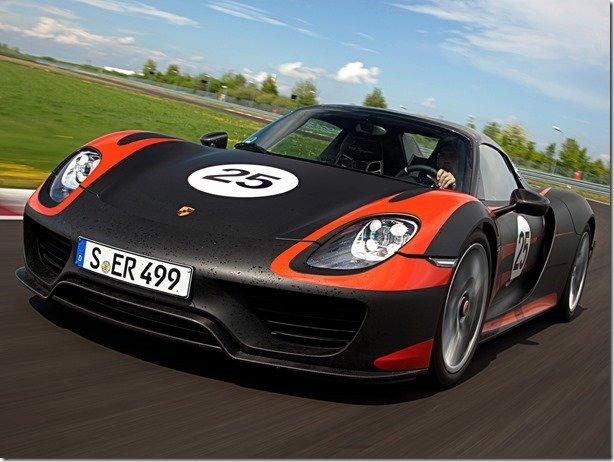 Porsche divulga mais detalhes do 918 Spyder…