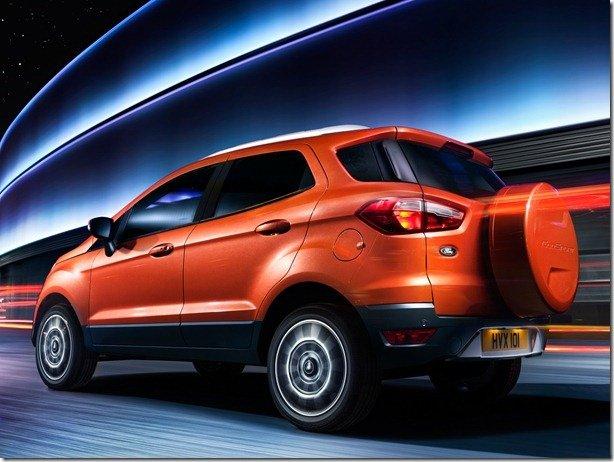 Ford EcoSport será vendido em 62 países, mas não nos Estados Unidos