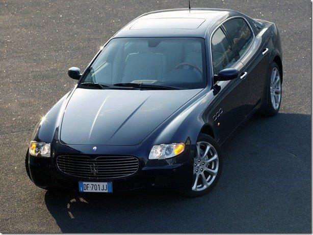 Recall da Maserati envolve Quattroporte e GranTurismo no Brasil