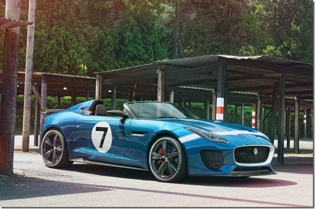 Jaguar Project 7 é criado especialmente para o festival de Goodwood