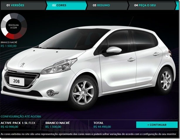 Peugeot 208 ganha versão intermediária Active Pack