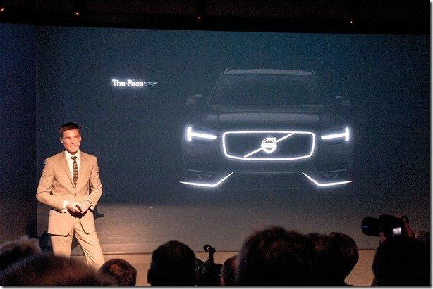 Volvo antecipa as formas do novo XC90