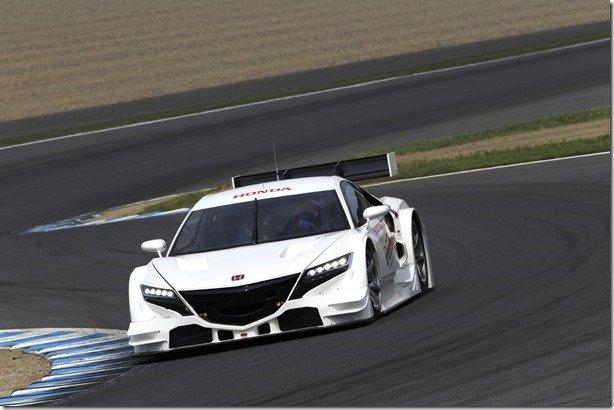 Honda faz apresentação da versão de corrida do NSX