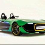 Novos rumos: Caterham inova com o AeroSeven Concept