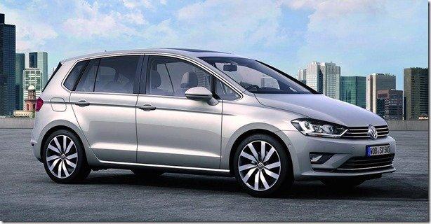 Volkswagen revela o Golf Sportsvan