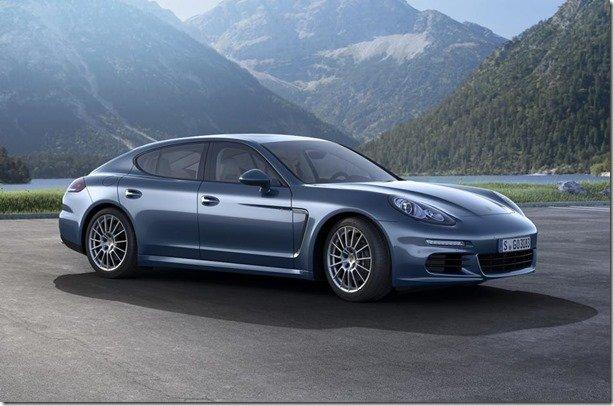 Porsche Panamera Diesel passa a ter 300 cv