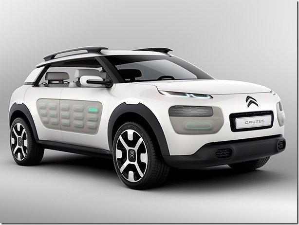 Citroën revela o Cactus Concept