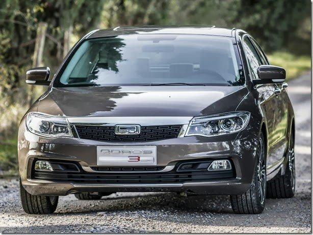 Qoros3 é o carro mais seguro testado este ano pelo Euro NCAP