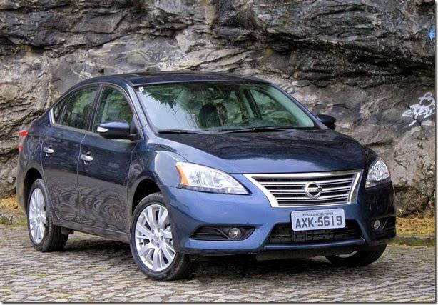 Nissan Sentra 2014 quer conquistar o consumidor tradicional de sedãs médios