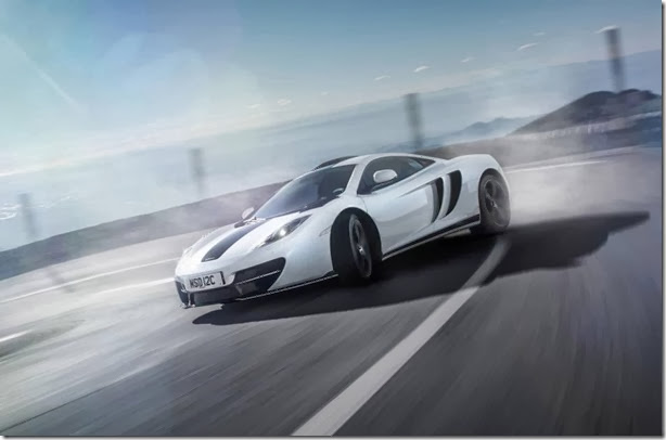 McLaren revela o MP4-12C MSO Concept