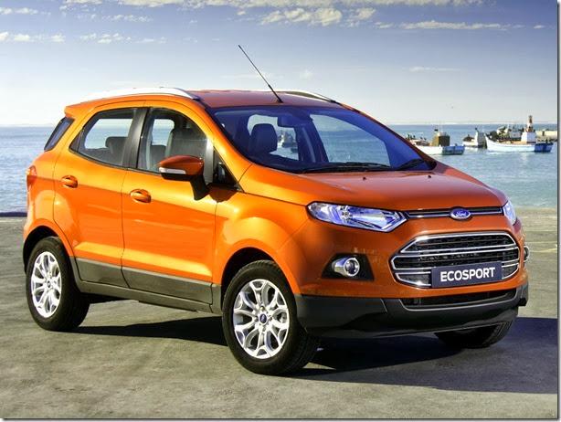 Ford EcoSport será fabricado na Rússia a partir de 2014