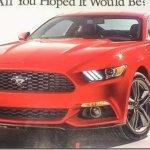 Primeiras imagens do Mustang 2015
