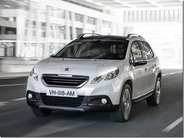 Peugeot 2008 é lançado no México