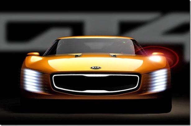 Kia divulga teaser de seu conceito esportivo, o GT4 Stinger