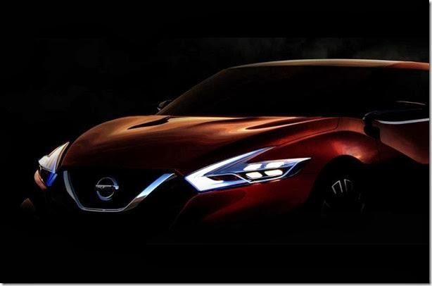 Nissan divulga primeiro teaser do conceito Sport Sedan