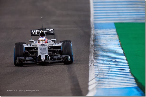 F1: De tudo um pouco nos testes