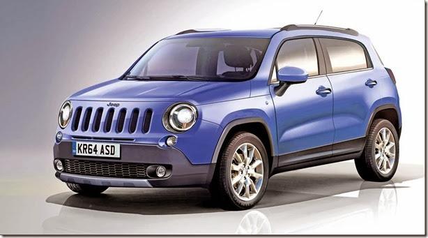 Crossover compacto da Jeep pode se chamar Laredo