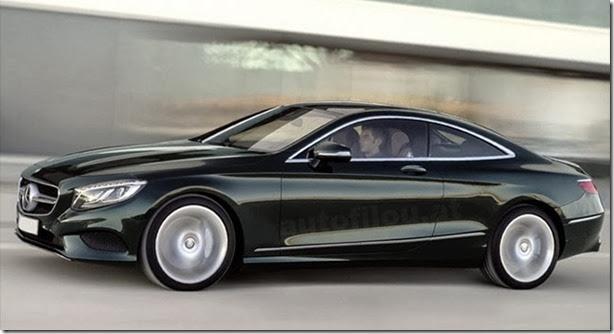 Mercedes mostra primeira imagem do novo Classe S Coupé
