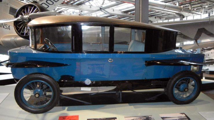Rumpler-Tropfenwagen