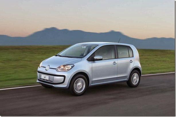 Todos os preços do Volkswagen up!