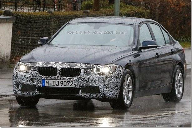 BMW já trabalha em facelift para o Série 3