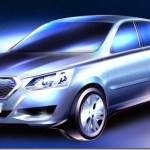 Datsun divulga teaser de seu sedã exclusivo para a Rússia