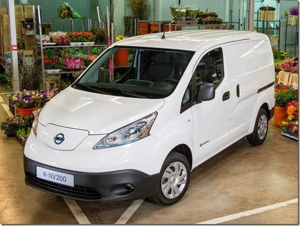 Este é o Nissan e-NV200 de produção
