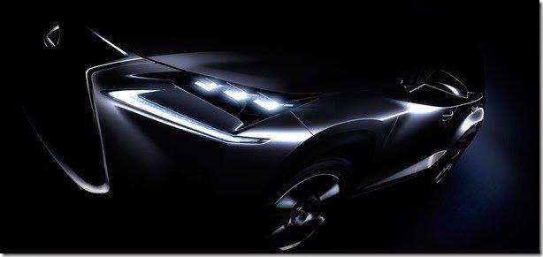 Lexus divulga teaser do SUV compacto NX