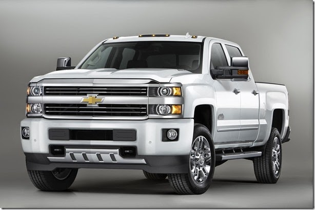 Chevrolet mostra Silverado High Country