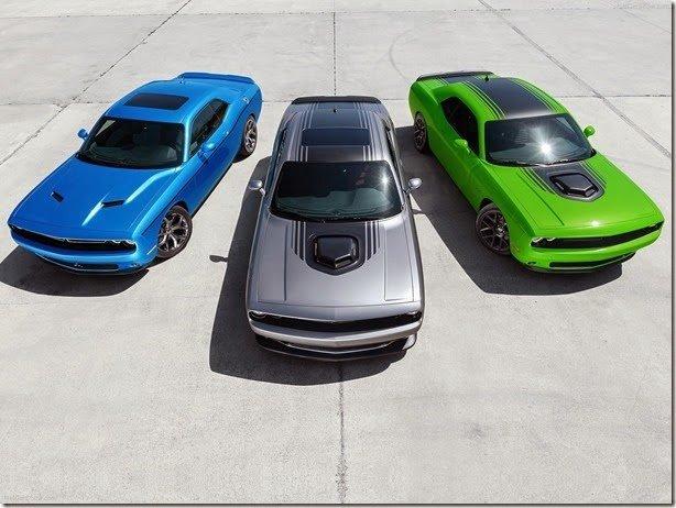 Charger e Challenger 2015: dose dupla da Dodge em Nova Iorque