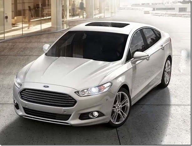 Ford Fusion está envolvido em novo recall