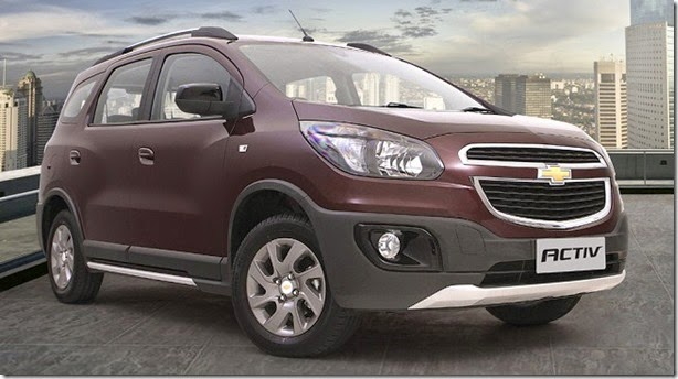 Tailandesa, Chevrolet Spin Active pode inspirar versão aventureira no Brasil