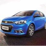 Chevrolet Sonic passa por reestilização na China