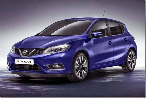 Nissan revela o Pulsar, seu novo hatch médio para a Europa