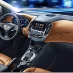 Este é o interior do novo Chevrolet Cruze